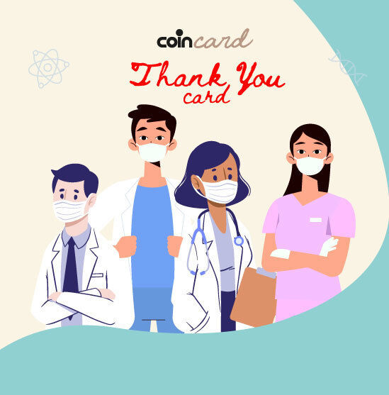 Express your thanks to the healthcare professional